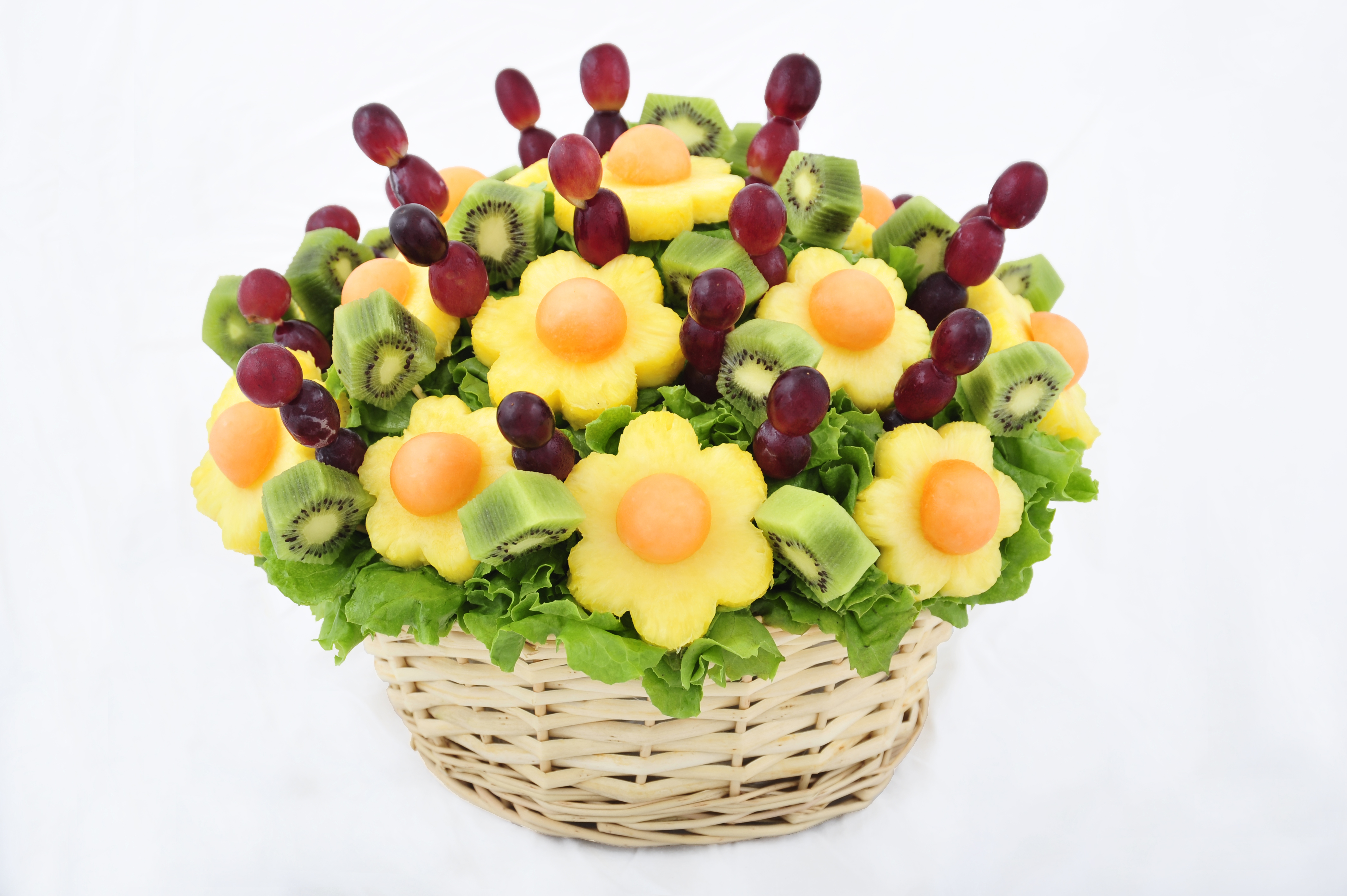 How to make fruit bouquets Fruit bouquet